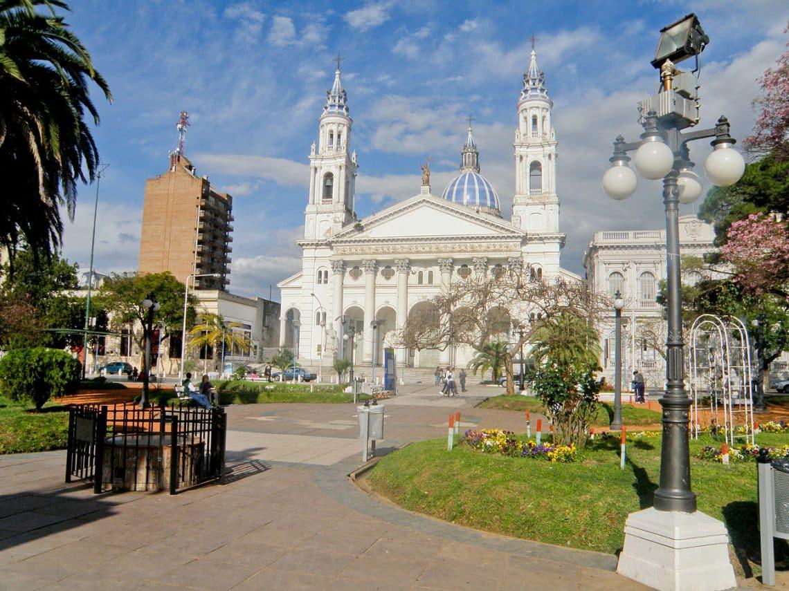 Catedral de la ciudad de Paraná