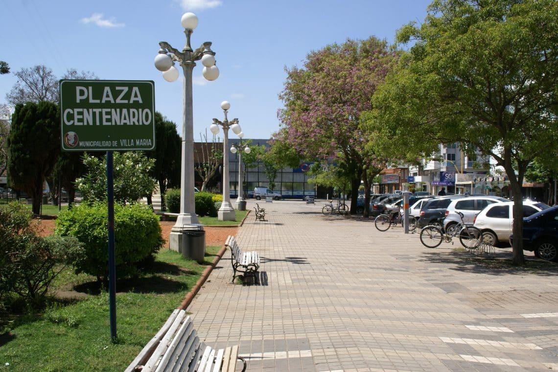 Plaza Centenario - Villa María, Provincia de Córdoba, Argentina