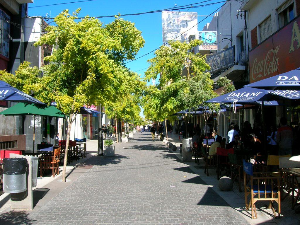 Peatonal Rivadavia, San Luis Capital