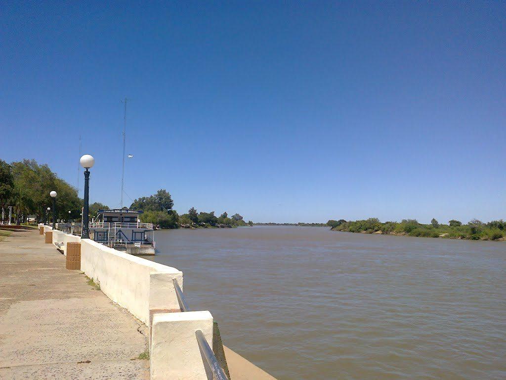 Costanera de la ciudad de Goya, Corrientes