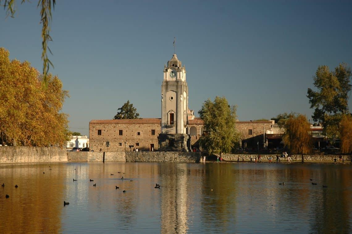 Vista de la Tajamar, Alta Gracia, Córdoba