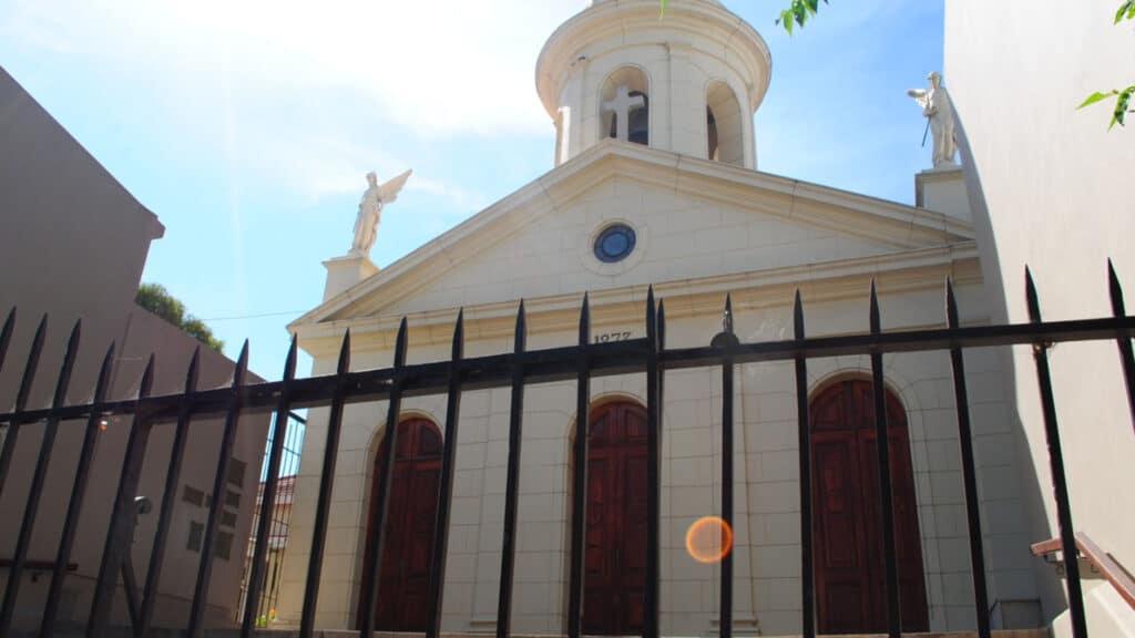capilla santa cecilia mar del plata