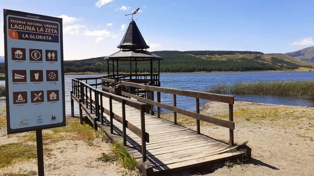 Glorieta de Reserva Natural La Zeta Esquel - foto: Esquel Turismo