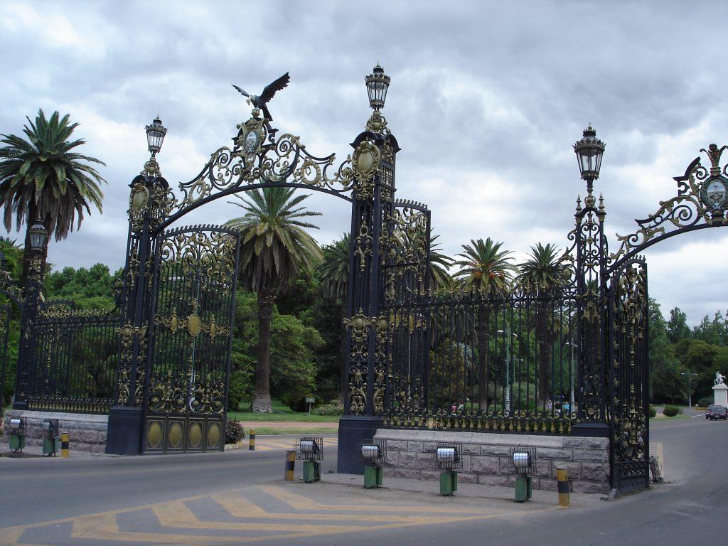 Portones Parque San Martín, ciudad de Mendoza