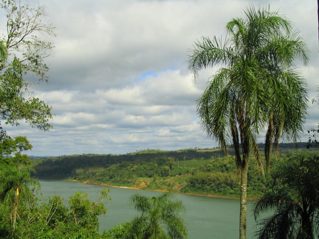 Vista del Paraná desde el Parque Schwelm