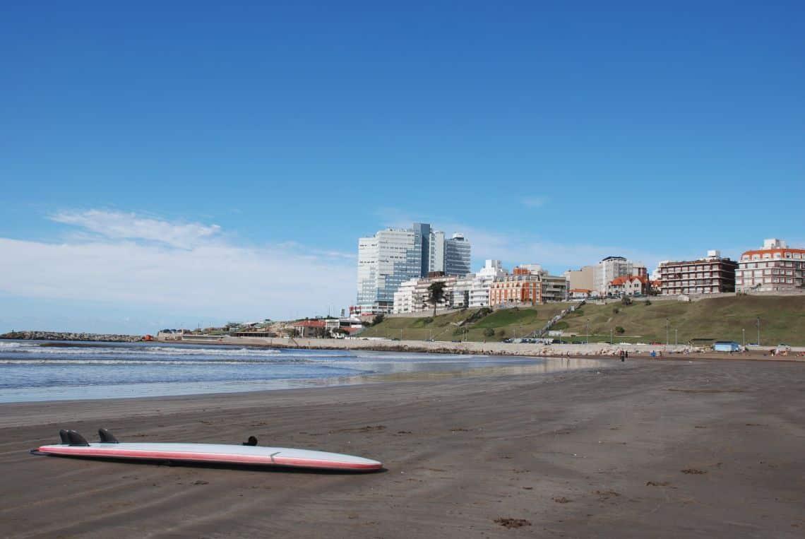 Cabo Corrientes desde Playa Varese, Mar del Plata