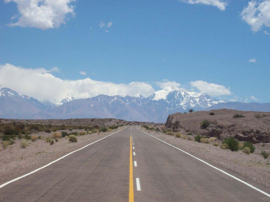 Ruta Nacional 149 entre Calingasta y Barreal