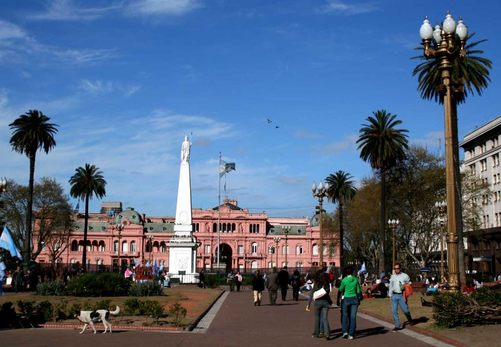 Plaza de mayo, ciudad de Buenos Aires