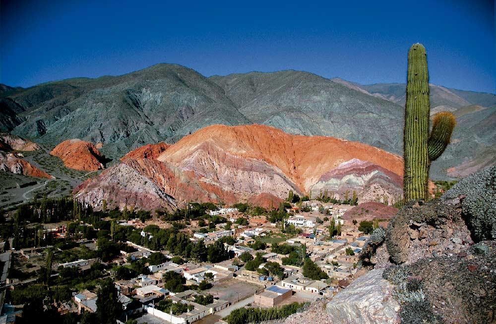 Cerro de los 7 colores, Purmamarca, Jujuy - Foto Joaquin Carrillo