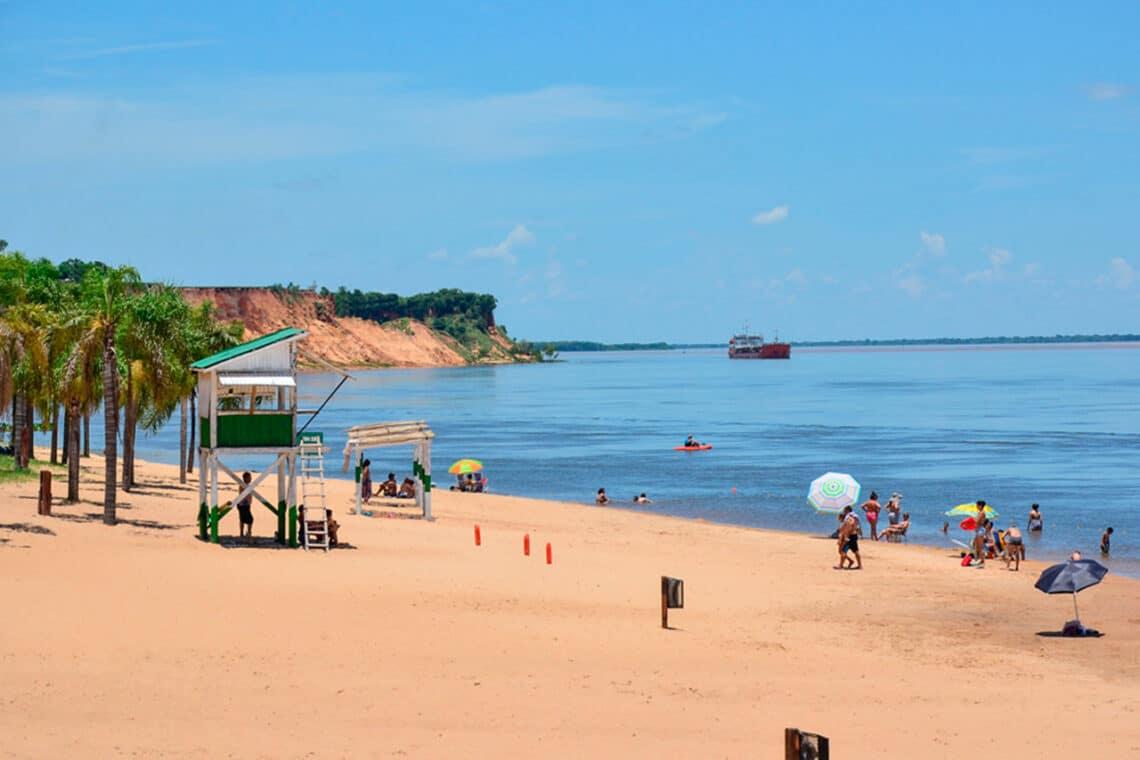 Playa de Bella Vista, Corrientes