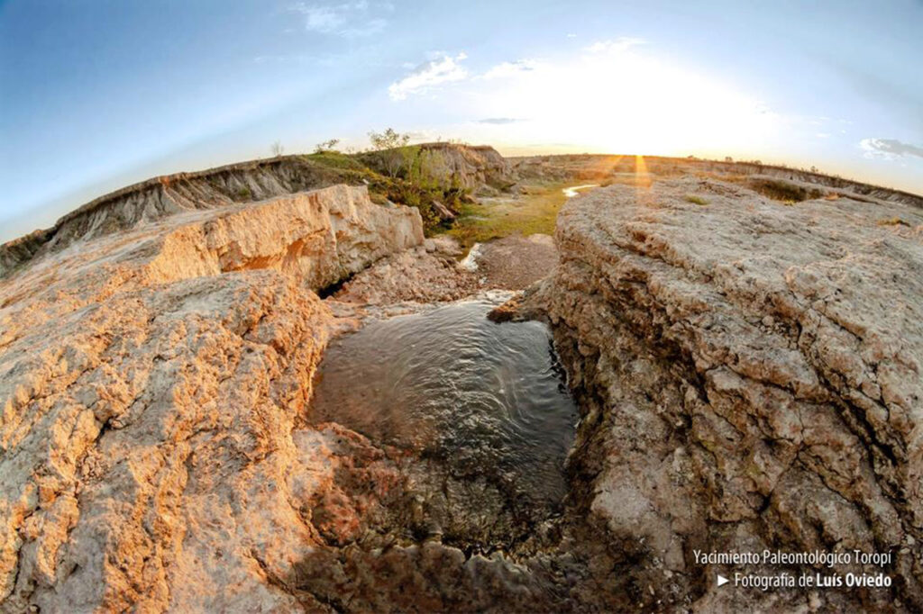 Yacimiento Paleontológico Toropí, Bella Vista, Corrientes