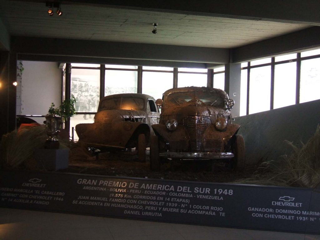 Exposición del Museo Juan Manuel Fangio