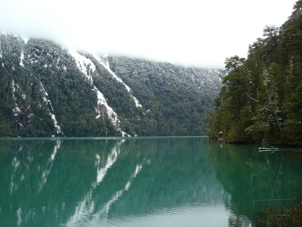 Lago Frías en invierno