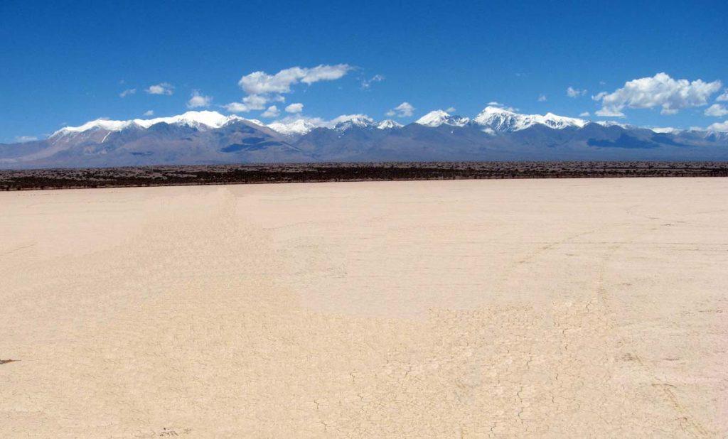 Barreal Blanco, Pampa del Leoncito, San Juan