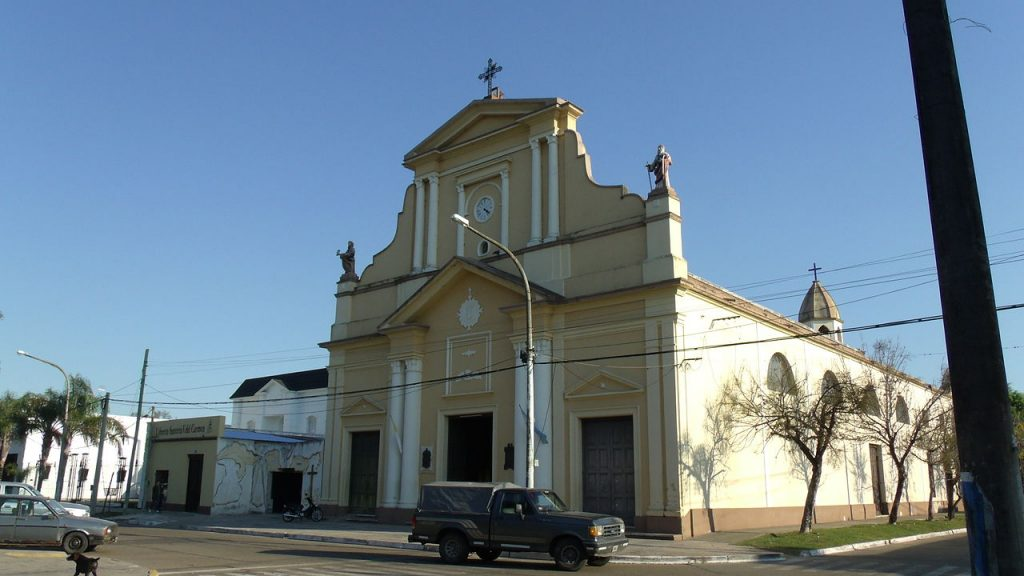 Iglesia Nuestra Señora del Carmen, Bella Vista, Corrientes