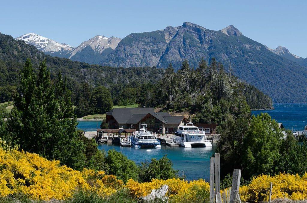 Puerto Pañuelo, Bariloche - Parque nacional Nahuel Huapi