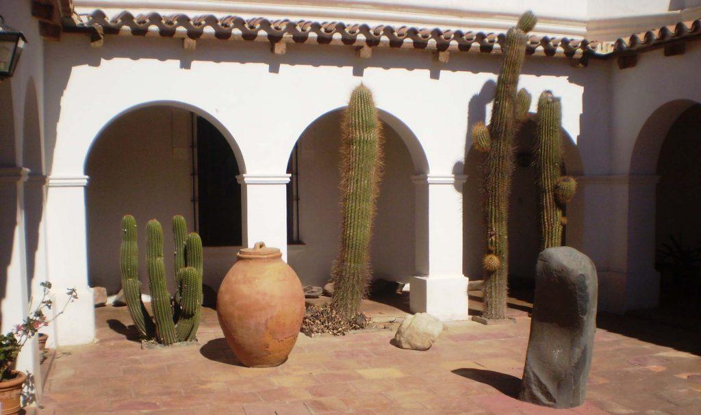Interior del Museo Arqueológico de Cachi, Salta