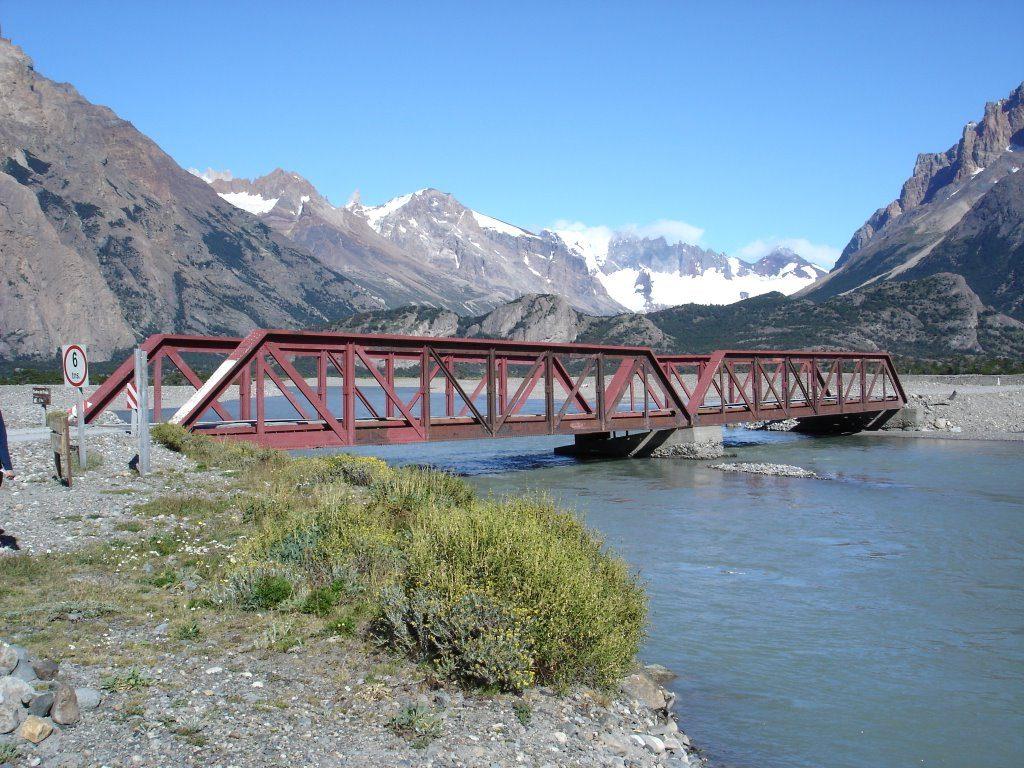 Puente Rio Electrico Ruta 23 hacia el Lago del Desierto
