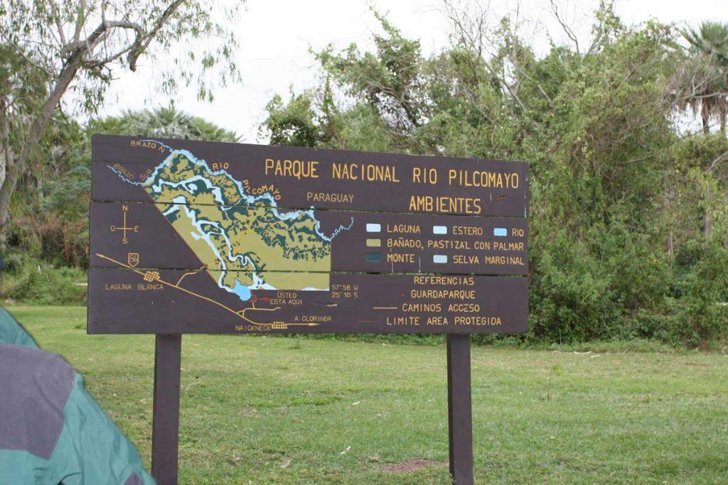 Portal de Parque Nacional Río Pilcomayo
