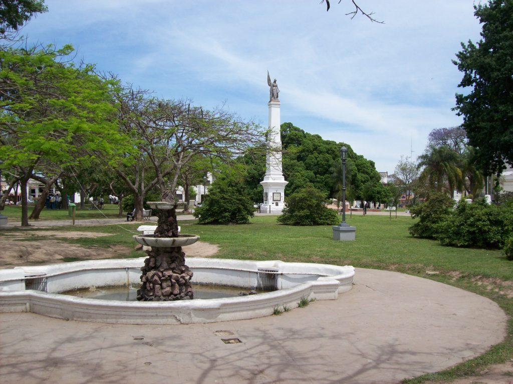 Plaza Mitre de Goya, Corrientes