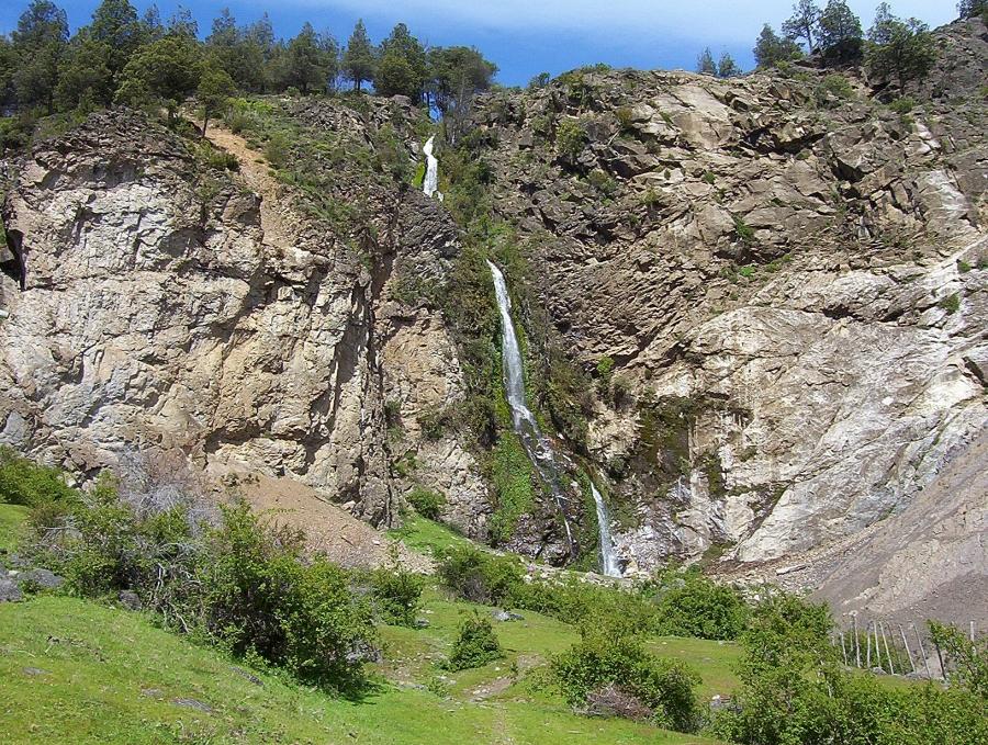 Cascada Nahuelpan, El Bolsón