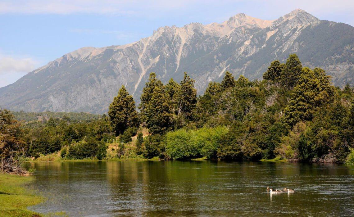 Paisaje de Cholila, Chubut - foto: Dirección de Turismo de Cholila
