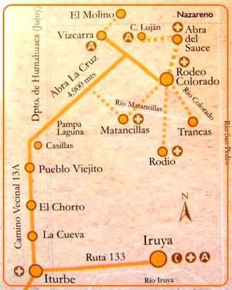 Circuito de los Cóndores de Iruya, Salta