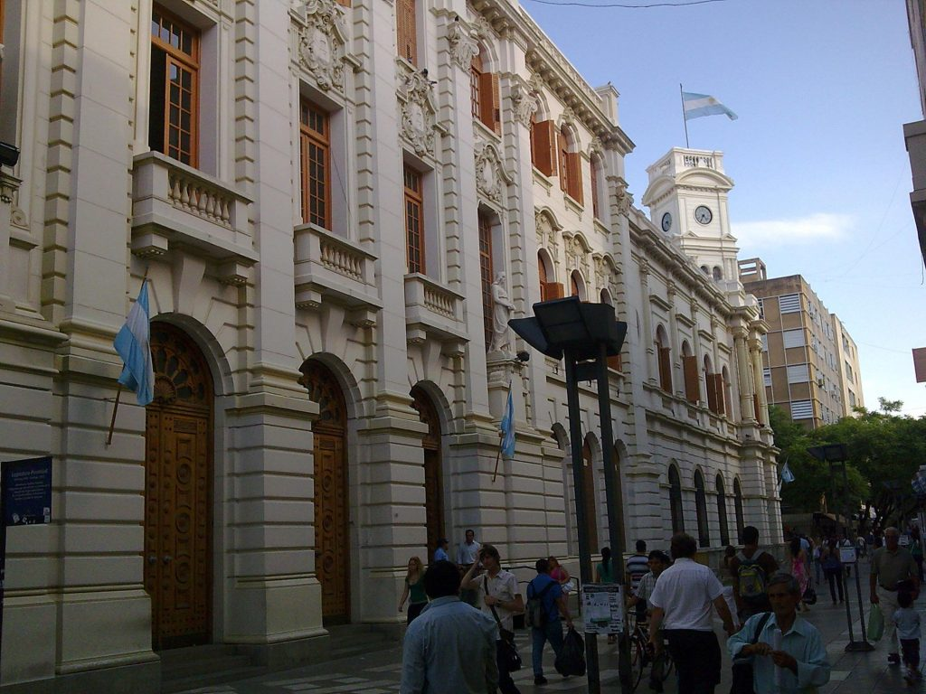 Edificio de la Legislatura de la ciudad de Córdoba