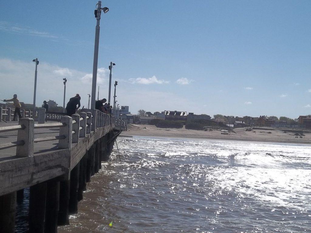 Muelle de pescadores de Mar de Ajó