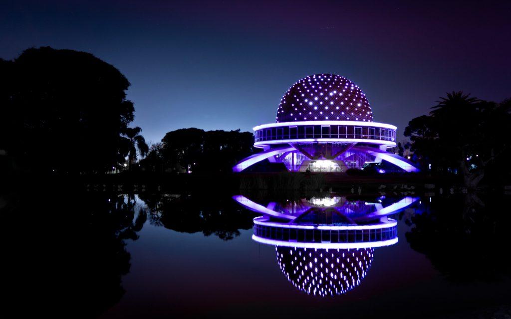 El Planetario, Buenos Aires - 50 aniversario del Planetario