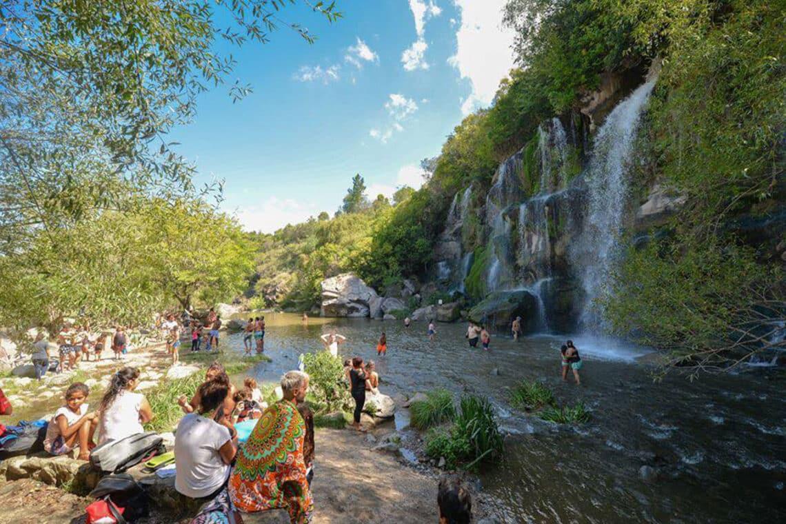 Siete Cascadas, La Falda - crédito: Agencia Córdoba Turismo
