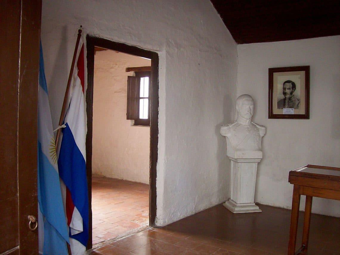 Interior de la casa histórica de José Félix Bogado, San Nicolás de los Arroyos