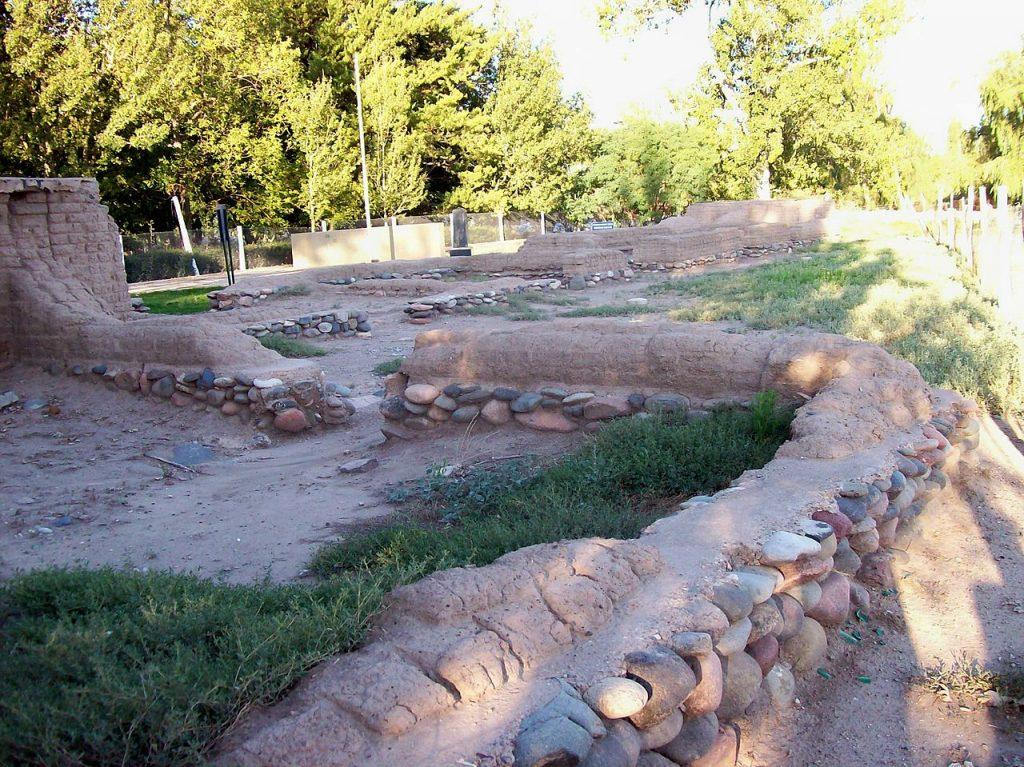 Ruinas del El Fuerte San Rafael del Diamante, Villa 25 de mayo, San Rafael, Mendoza