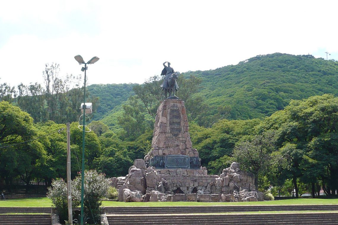Monumento a Güemes, Salta