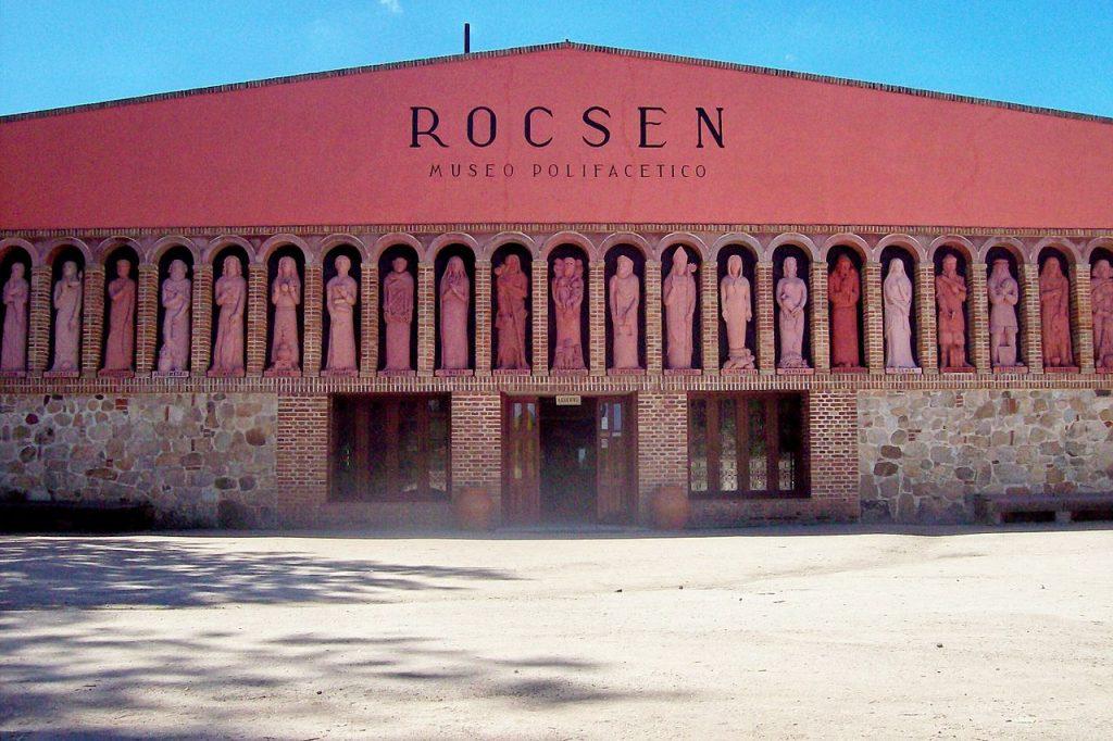 Fachada del Museo Rocsen, Nono, Córdoba