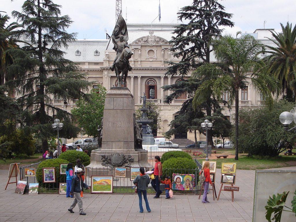 Plaza Belgrano, San Salvador de Jujuy