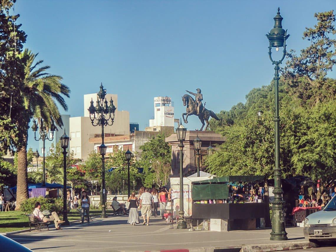Plaza San Martín, Santa Rosa, La Pampa