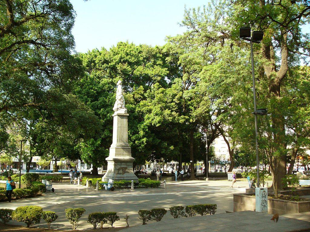 Plaza Independencia de San Miguel de Tucumán