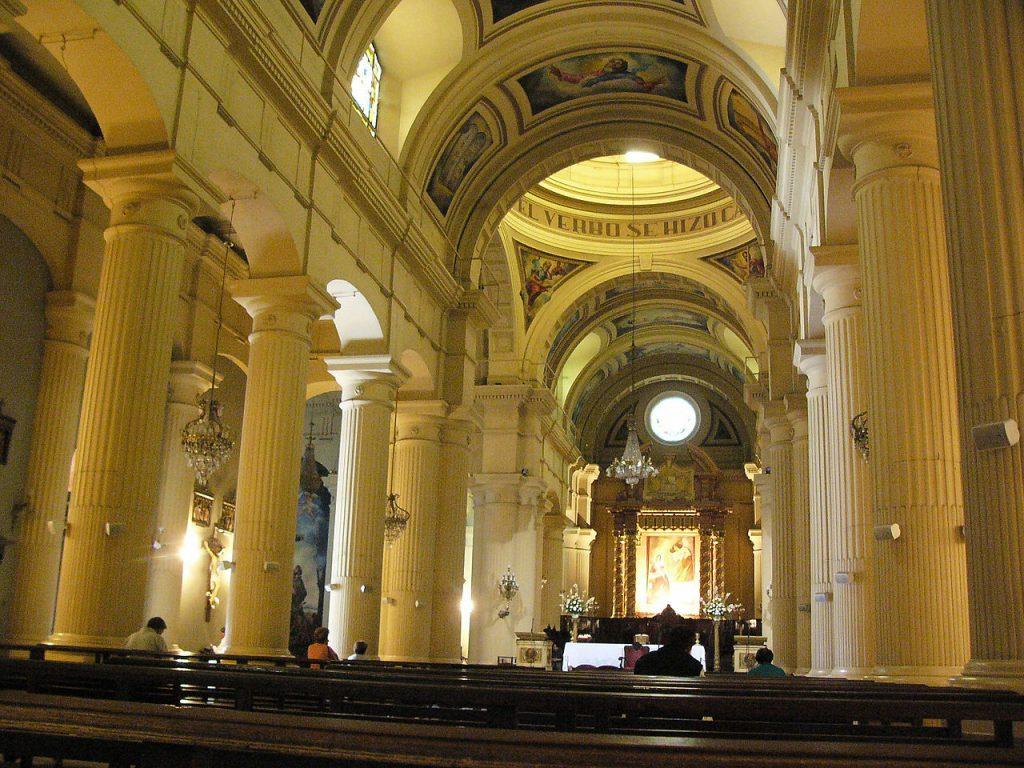 Interior de la Iglesia Catedral de San Miguel de Tucumán