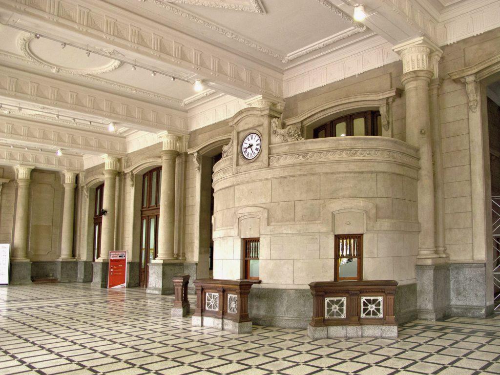 Interior de la Estación Belgrano de la ciudad de Santa Fe