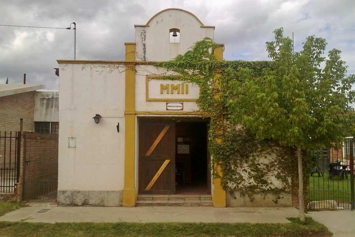 Fachada del Museo de las Campanas de Mina Clavero