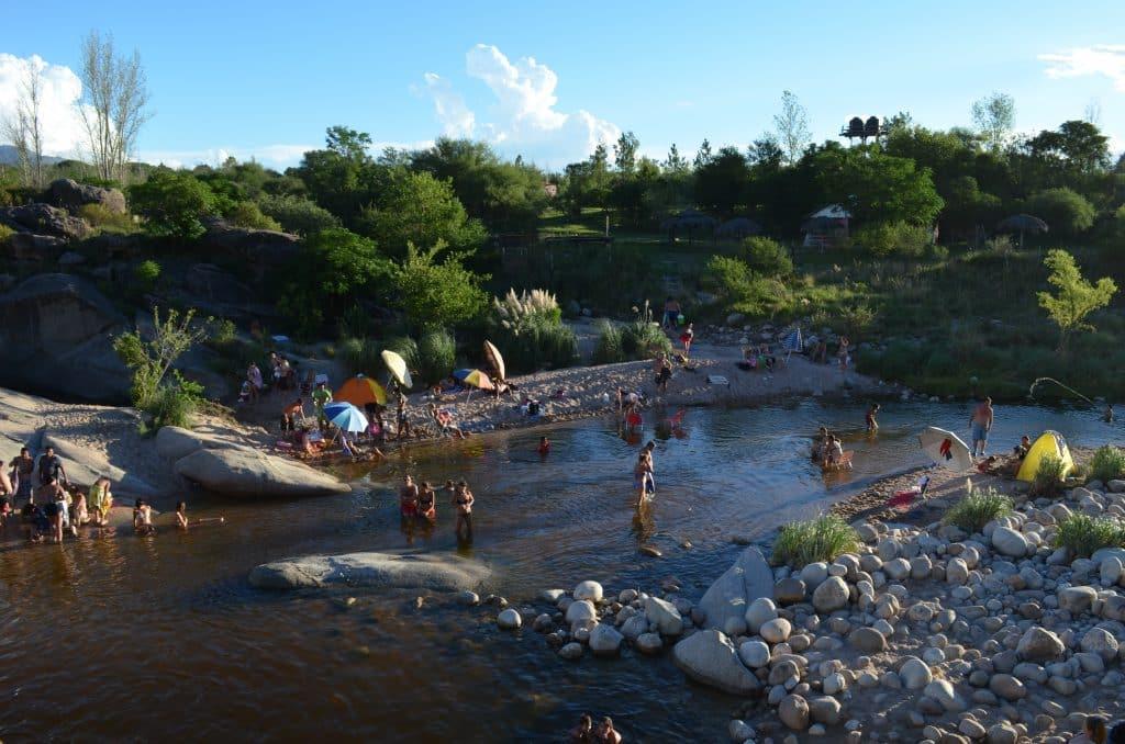 Balneario Los Remansos - Dirección de Turismo de Nono