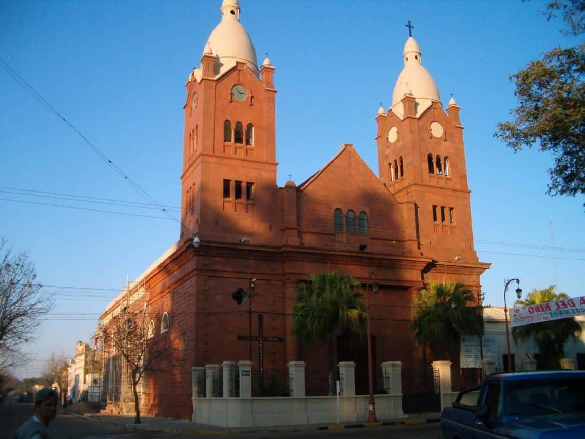 Iglesia Nuestra señora de la Merced, Mercedes, Corrientes