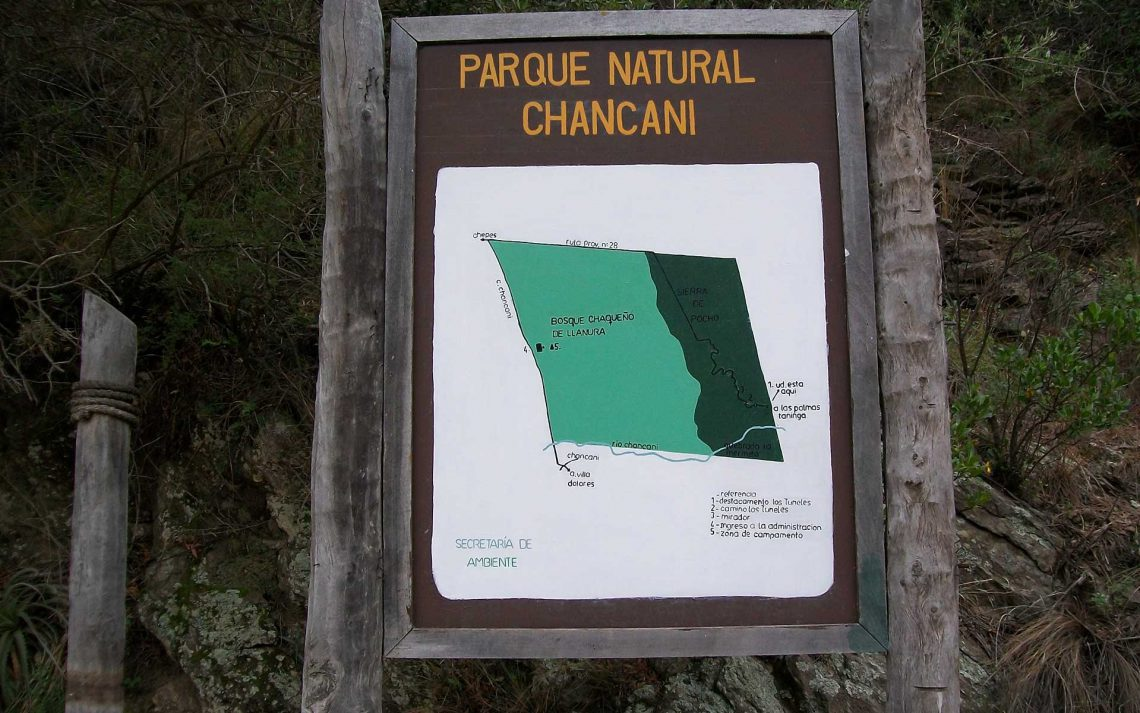 Parque Natural Chancaní, Córdoba