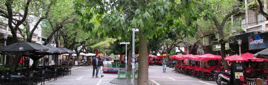 Paseo Peatonal Sarmiento, Ciudad de Mendoza