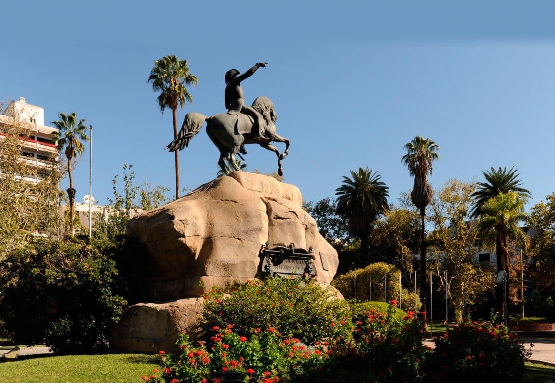 Plaza San Martín, Ciudad de Mendoza