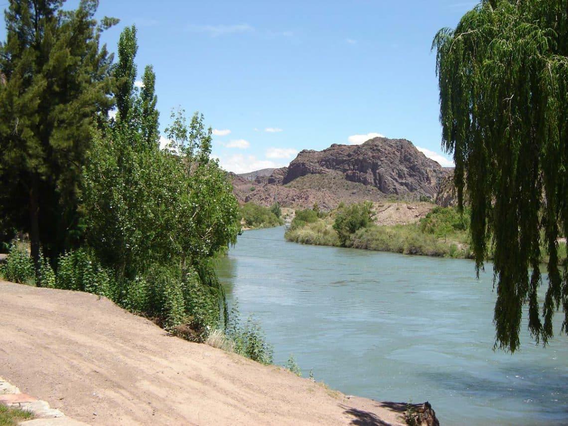 Cañón el Atuel, Valle Grande, San Rafael, Mendoza