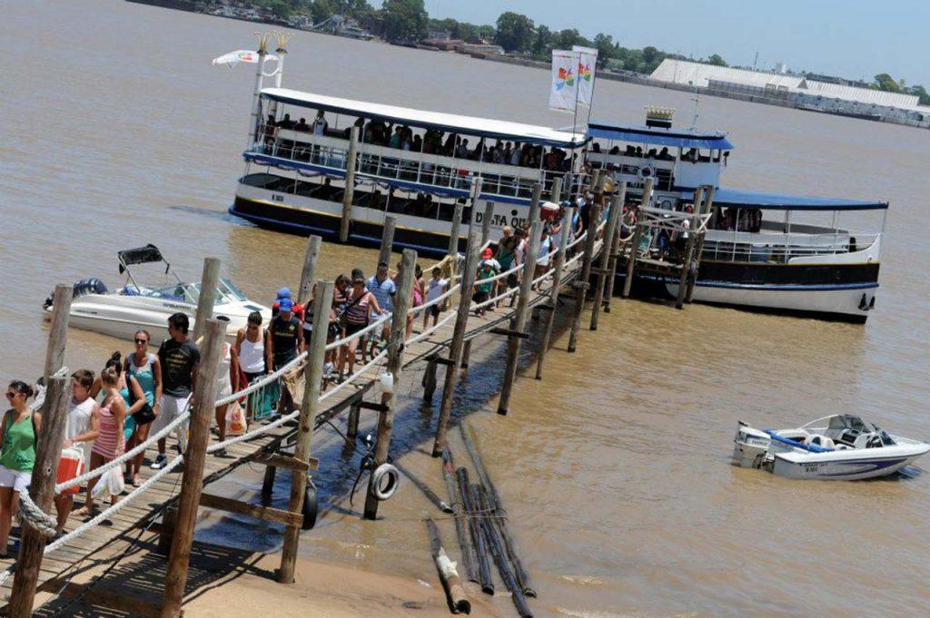 Muelle de El Banquito de San Andrés, Rosario - Rosario Turismo