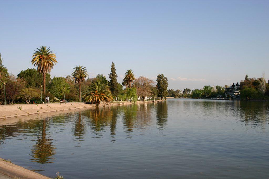 Lago del Parque San Martín, Mendoza