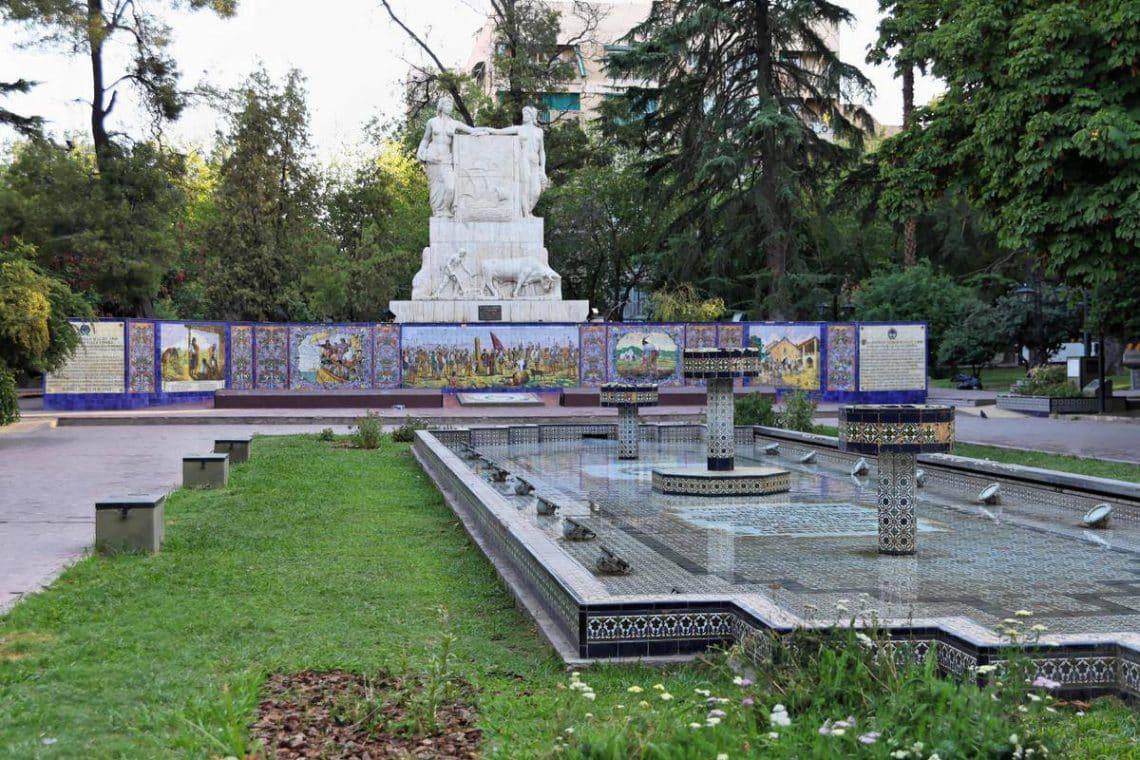 Plaza España, Ciudad de Mendoza
